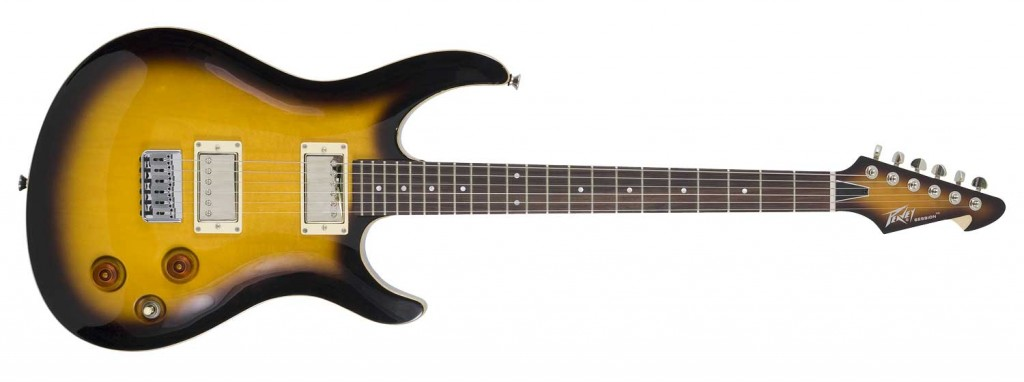 peavey session guitar tobacco burst