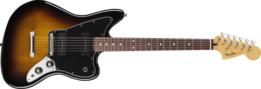 Fender Jaguar Blacktop 90