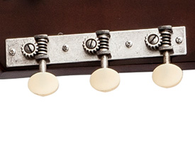 The Gibson - 1928 L-1 Blues Tribute acoustic guitar 3-in-line tuning pegs